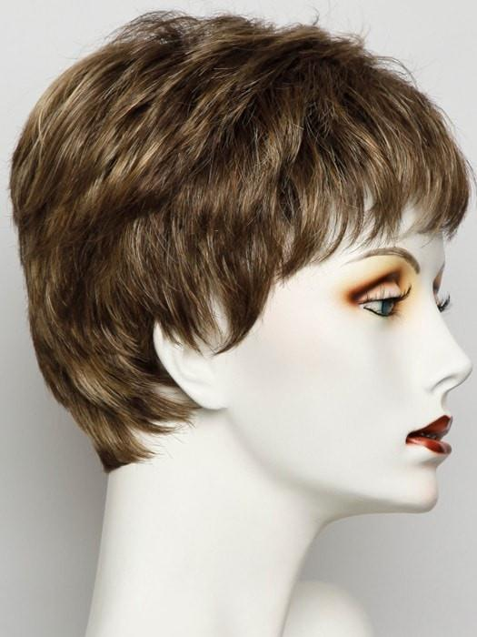 SS8/25 SHADED GOLDEN WHEAT | Rich Medium Brown Evenly Blended with Golden Blonde Highlights with Dark Roots