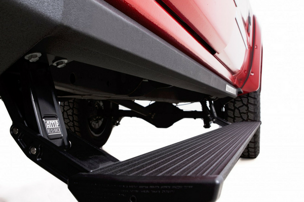 AMP Research 77154-01A Chevy Silverado 2500/3500 2015-2018 PowerStep XL Running Board Plug N' Play System - includes OEM style illumination