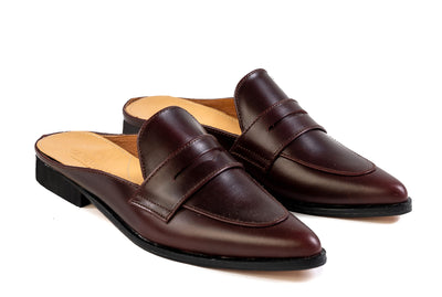 Posh Penny Loafer - Oxblood Burgundy - Marquina Shoemaker