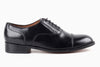Garcia Captoe Oxford - Black Noir - Marquina Shoemaker