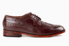 Quezon Longwing Mahogany Brown - Marquina Shoemaker