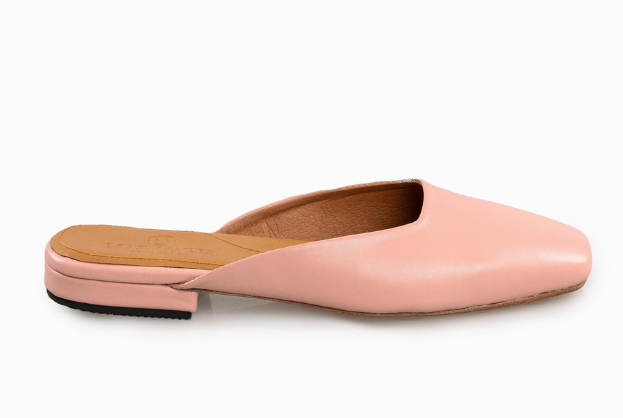The Mod Flat - Blush Pink - Marquina Shoemaker