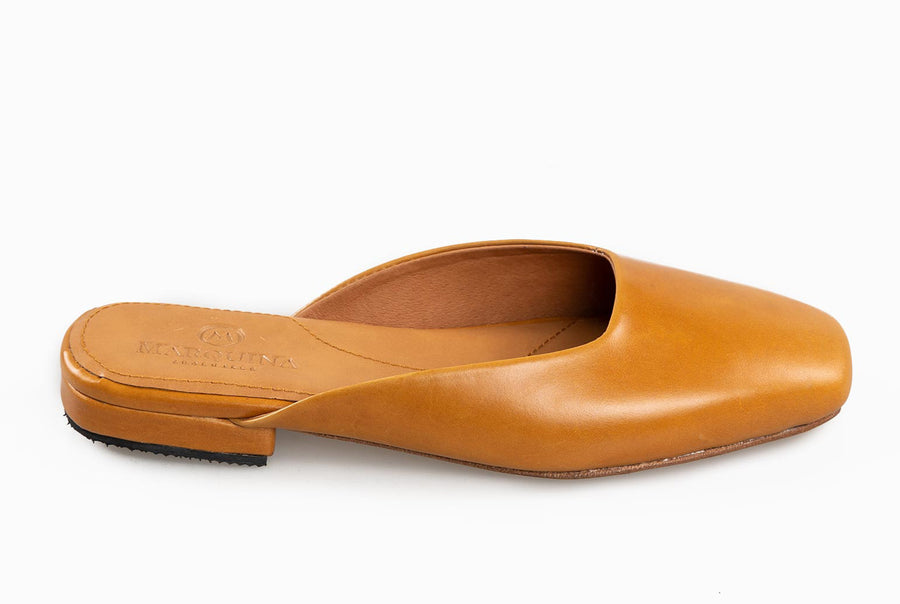 The Mod Flat - Cognac Tan - Marquina Shoemaker