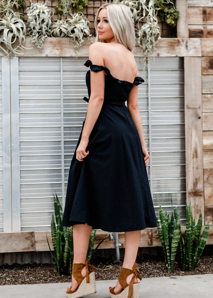 Spring Dawn Dress - Black
