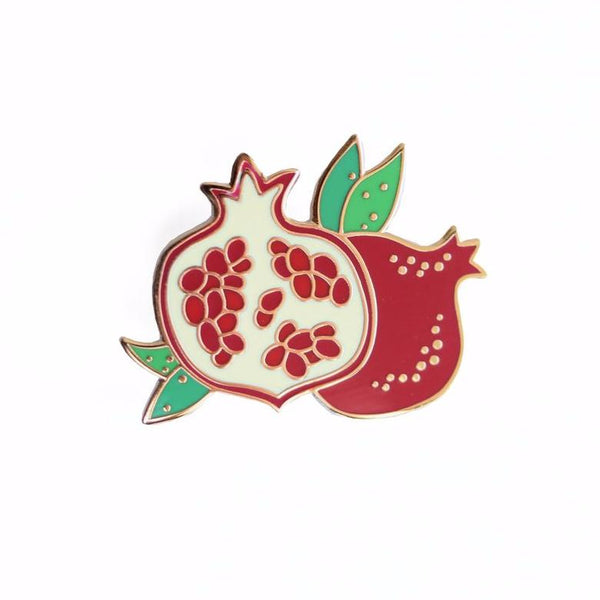 Pomegranate Enamel Pin