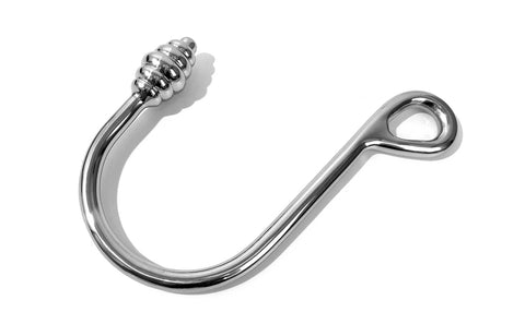 Stainless Steel Ribbed Anal Rope Hook