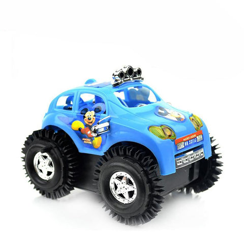Children's Car Toy Electric Somersault Stunt