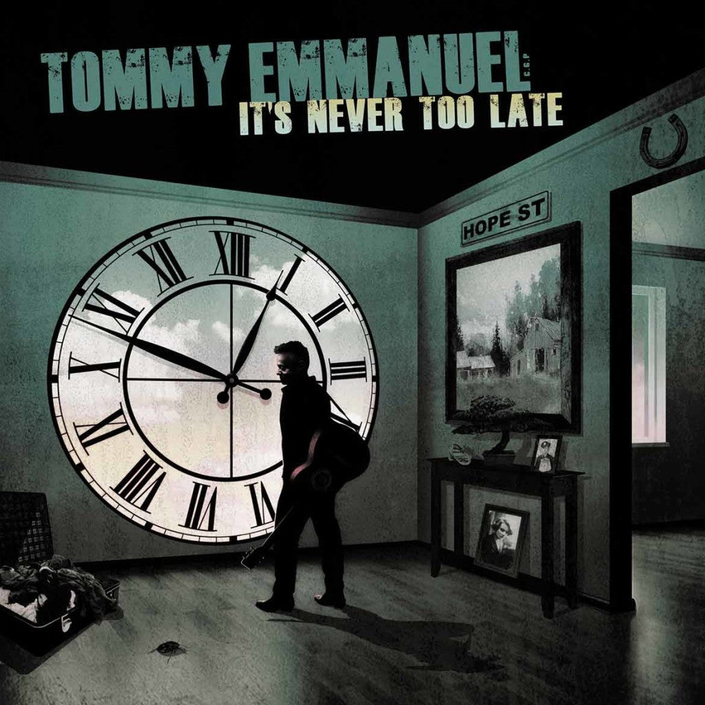It's Never Too Late CD (2015)
