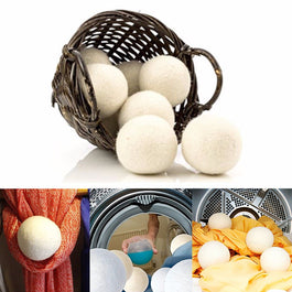 6pcs/pack  Organic Wool Dryer Balls