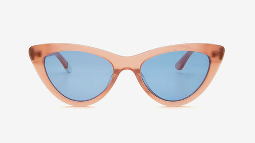 MERIA Crystal Coral Pink | Ethical & Sustainable Sunglasses Australia
