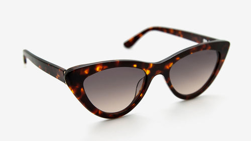 MERIA Dark Havana Tortoiseshell | Ethical & Sustainable Sunglasses Australia