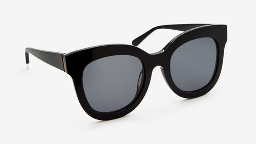 ZURI Recycle Black | Ethical & Sustainable Sunglasses Australia