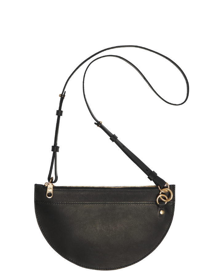 Black Crescent Moon Bag Medium