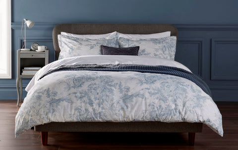 "Christy ""Prestbury"" Bed Linen - in Soft Blue"