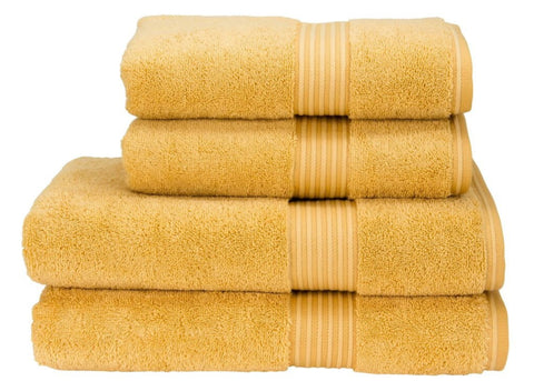 "Christy ""Supreme"" Towel and Bath Mat Collection in Honey"
