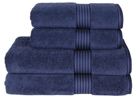 "Christy ""Supreme"" Towel and Bath Mat Collection in Midnight"