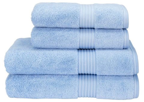 "Christy ""Supreme"" Towel and Bath Mat Collection in Sky"