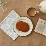 FOLKSGLOVE Fumitory Napkin - With tea and biscuits