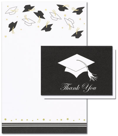 Hat Toss Invitation Kit 24 Invites 24 Thank You Notes