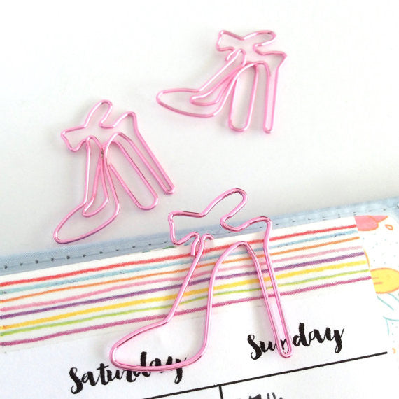 Bow Paper Clip Set-Stationary-Moonlight Gypsy