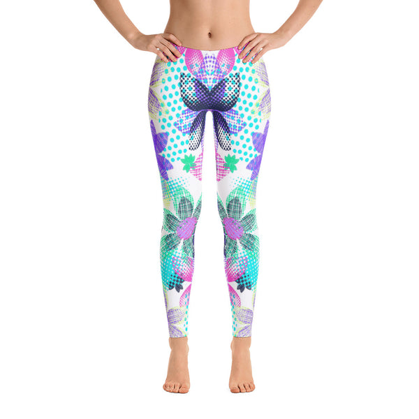 Dream Flowers All-Over Legging - ZBAZAAR
