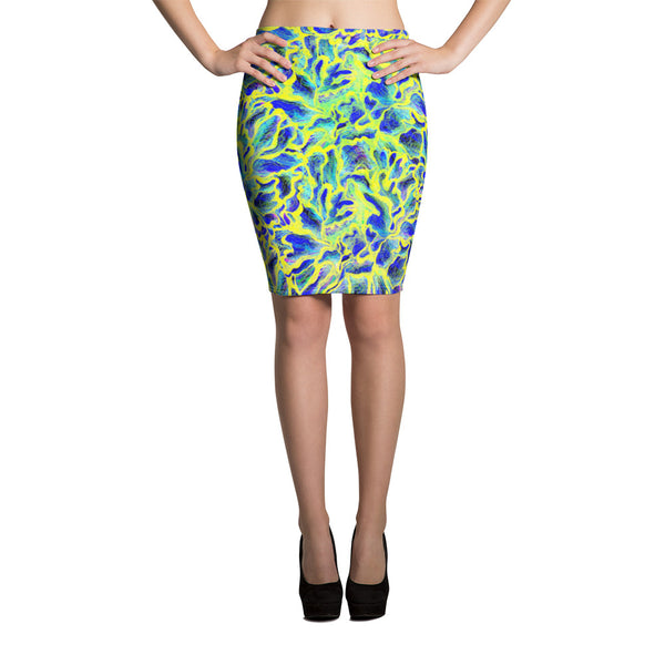 Colorful Skin Pencil Skirt - ZBAZAAR