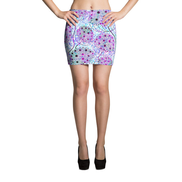 Life Tree Mini Skirt - ZBAZAAR