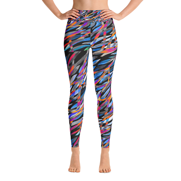 Yoga Leggings / Tropical Fusion - ZBAZAAR