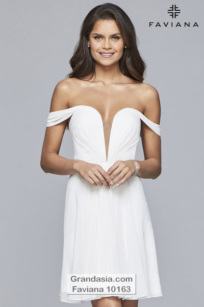 Faviana 10163 Prom Dress