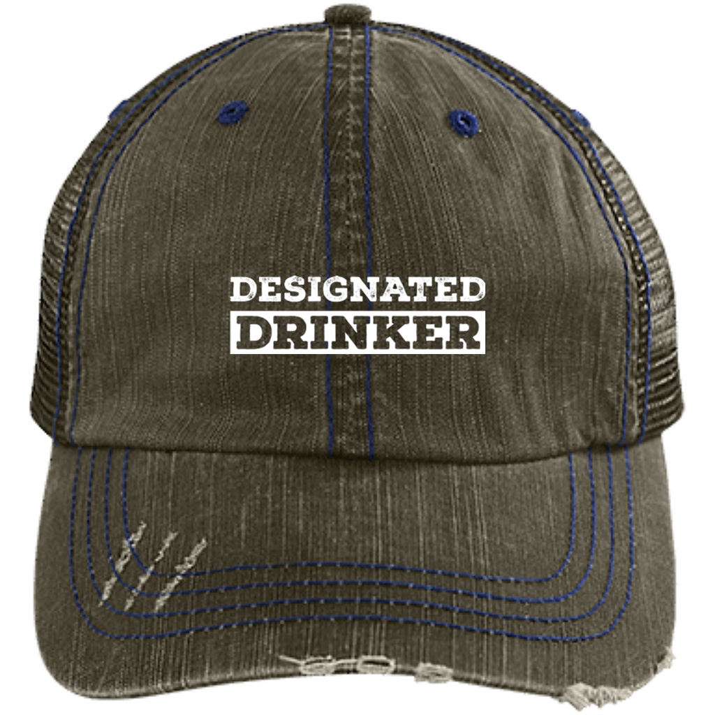 Designated Drinker Trucker Cap Hats - The Beer Lodge