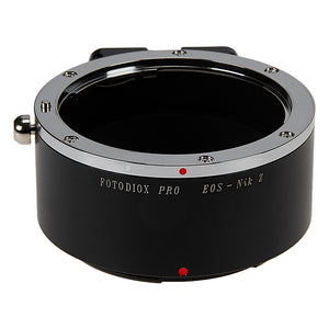 Fotodiox Pro Lens Mount Adapter Compatible with Canon EOS (EF / EF-S) D/SLR Lenses to Nikon Z-Mount Mirrorless Camera Bodies