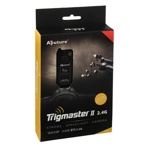 Aputure Trigmaster II 2.4G (MXII-C) Camera & Light Remote for Canon Cameras