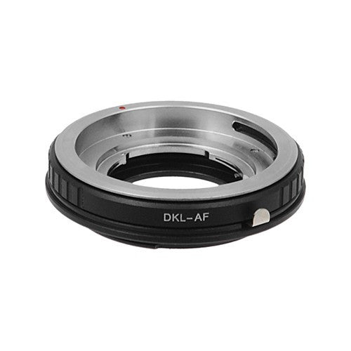 Fotodiox Pro Lens Mount Adapter - Deckel-Bayonett (Deckel Bayonet, DKL) Mount SLR Lens to Sony Alpha A-Mount (and Minolta AF) Mount SLR Camera Body