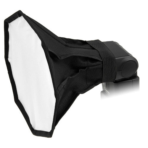 "Fotodiox 8"" Octagon Foldable Flash Softbox for On Camera Flash/Speedlight Diffusion"