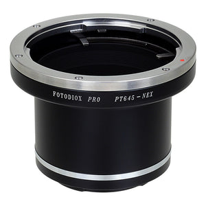Pentax 645 SLR Lens to Sony Alpha E-Mount Camera Body Adapter