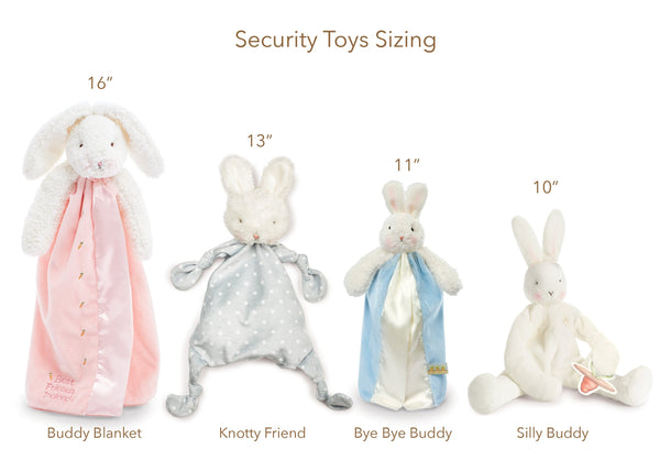 Bunnies by the Bay Blossom Bunny Blankie (Pink)