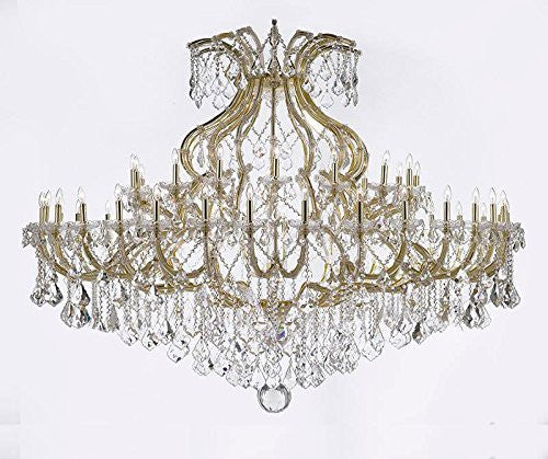 "Maria Theresa Empress Crystal (Tm) Chandelier Lighting H 48"" W 72"" - Cjd-B62/Cg/2181/72"
