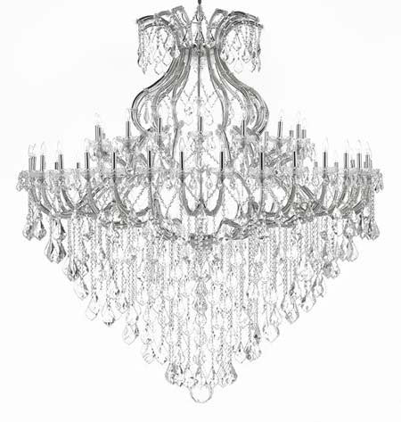 "Maria Theresa Empress Crystal (Tm) Chandelier Lighting H 72"" W 72"" - Cjd-Cs/B12/2181/72"