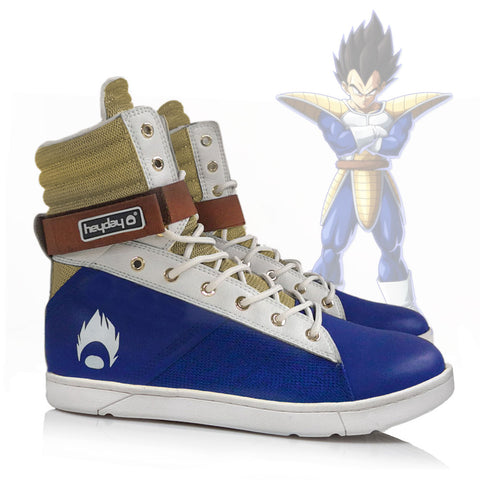Heyday Footwear Vegeta inspired Tactical Trainer hightop gym sneaker for bodybuilding