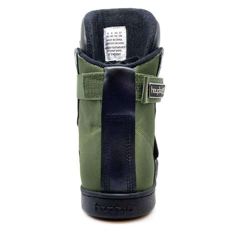 Image of Heyday Footwear Sneakers #MyHeyday Olive/Black Super Shift Bodybuilding High Top Sneakers