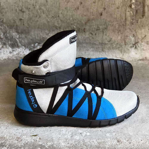 Image of  Silver/Blue/Black Super Freak 2.0 High Top Sneaker for Cardio and Bodybuilding