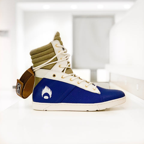 Image of Heyday Footwear Vegeta inspired Tactical Trainer hightop gym sneaker for bodybuilding