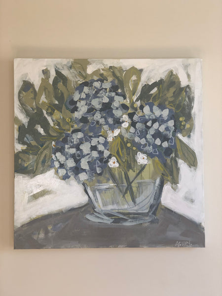 Hydrangea Art Workshop {Saturday} July 27, 2019
