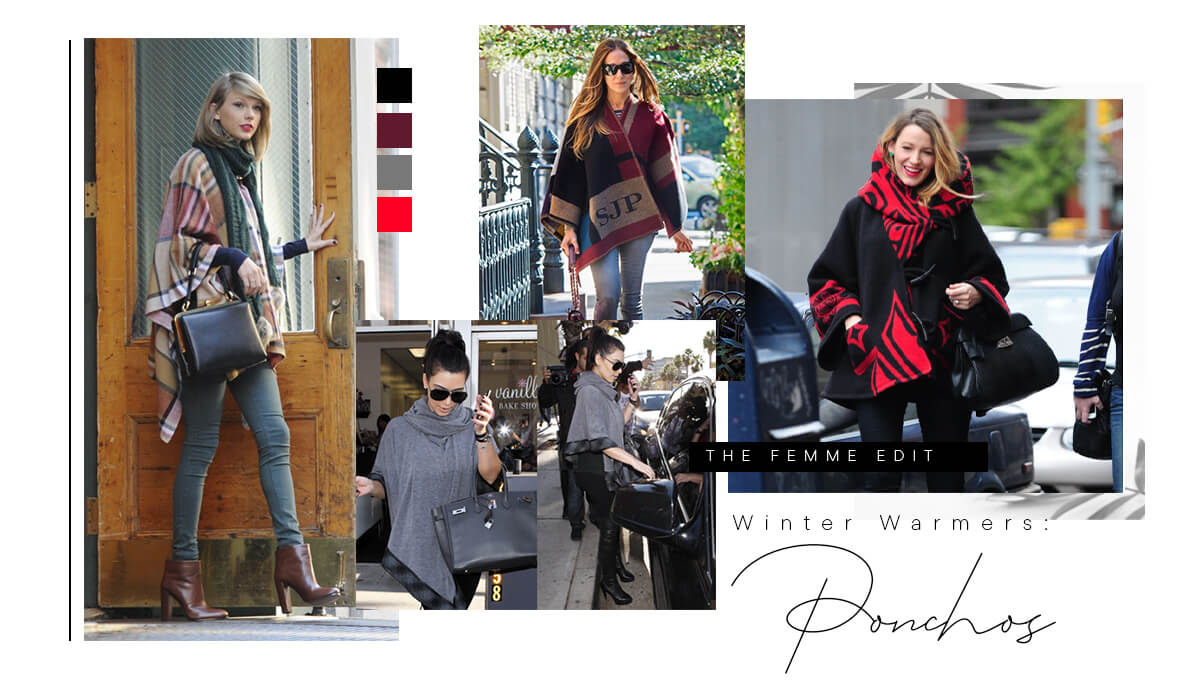 Winter Warmers Ponchos | Femme Connection