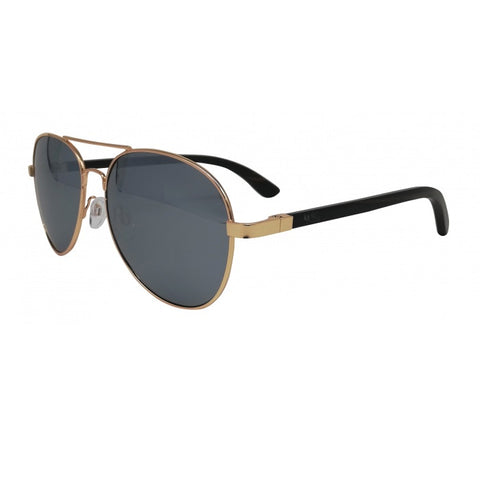 Aviator Sunglasses with Silver Lens