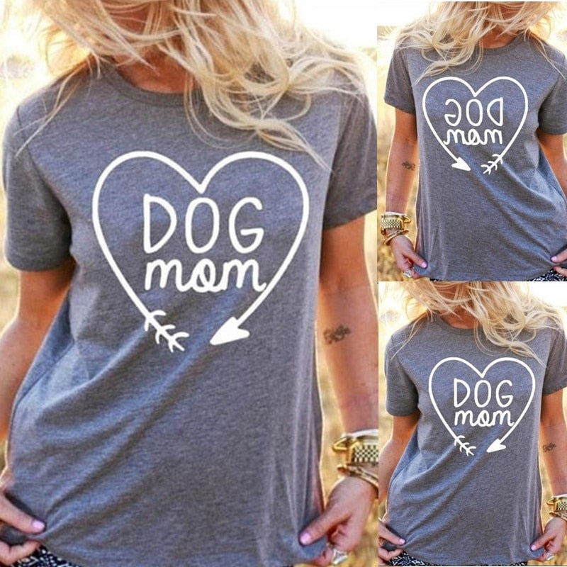 Dog Mom T Shirt - Zacca store
