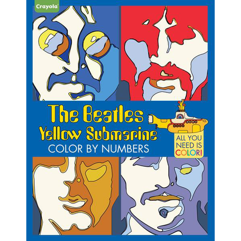Yellow Submarine: Color By Numbers
