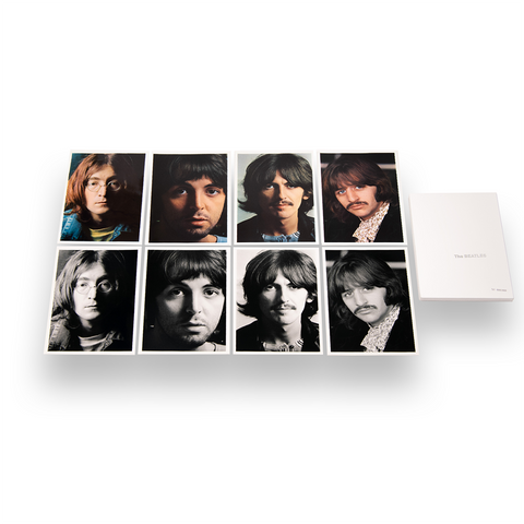 "Limited & Numbered 11""x17"" White Album Lithograph Set"