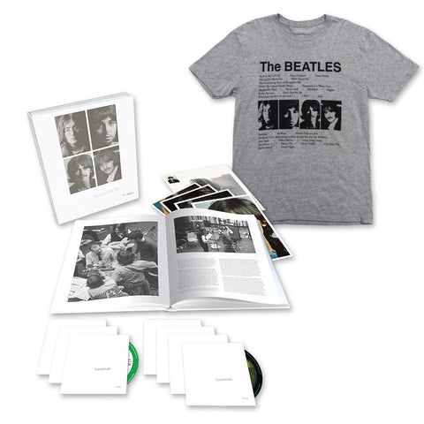 The Beatles (White Album) Super Deluxe Edition + T-Shirt