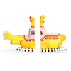 Limited Edition Yellow Submarine Sculpted Ceramic Bookends